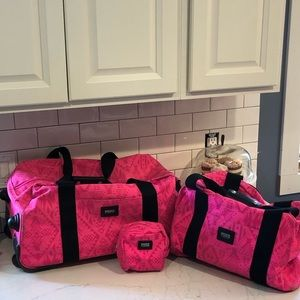 Victorias Secret 3 piece luggage set